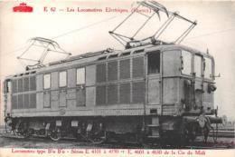 ¤¤  -   Les Locomotives Françaises  -   Locomotive B'o B'o Serie E 4101 à 4190 De La Cie Du MIDI - Matériel