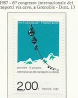PIA  - FRAN - 1987 : 6° Congresso Internazionale Dei Trasporti Via Cavo A Grénoble  - (Yv  2480) - Sonstige (Land)