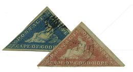 Cap De Bonne Espérance : N°2 Et 3 Obl. TB - África Del Sur (...-1961)