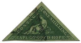 Cap De Bonne Espérance : N°6 Obl. TB - África Del Sur (...-1961)
