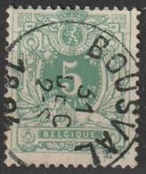 COB N ° 45 Oblitération BOUSVAL - 1869-1888 Leone Coricato