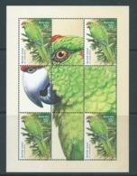 Australia 2009 Norfolk Island Green Parrot Special Minature Sheet Ex Year Book MNH , Limited Release - 2000-09 Elizabeth II