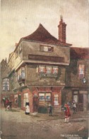 """In Dikens Land"" Complete Set Of Six (6) Tuck Oilette In Dickens Land Ser.PC # 1163 - Tuck, Raphael"