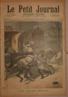 Le Petit Journal. 26 Mars 1892.Un Jeune Brave. Un Mariage Albanais. - Boeken, Tijdschriften, Stripverhalen