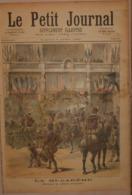 Le Petit Journal. 2 Avril 1892.La Mi-carême. Un Coup De Grisou. - Boeken, Tijdschriften, Stripverhalen