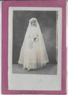 PONT DE ROIDE 6 Juillet 1916 GABRIELLE CAUDEVEZ   Communiante - Fotografia