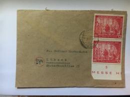 GERMANY Allied Cover 1947 Lippstadt To Lubeck - Gemeinschaftsausgaben