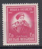BELGIË - OPB - 1947 - Nr 749a (Witte Gom) - MNH** - Unused Stamps