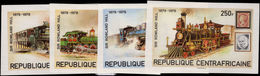 Central African Republic 1979 Rowland Hill Imperf Unmounted Mint. - Central African Republic