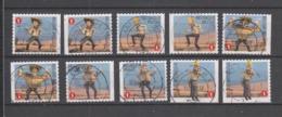 COB 3888 / 3892 Série Complète Oblitérée Bande Dessinée Bob Et Bobette - Used Stamps