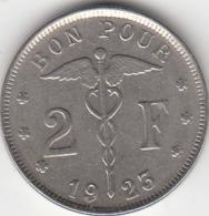 PIECE DE 2 FR (BON POUR) 1923 EN BON ETAT - 08. 2 Franchi