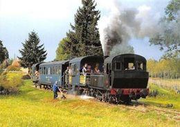"""Chemin De Fer Sarthe Bonnetable, Locomotive A Vapeur Corpet-Louvet """"La Cheronne"""" - Ansichtskarten"""