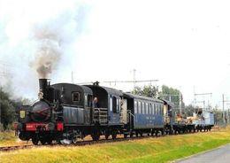 Chemin De Fer Touristique, Sarthe, Bonnetable, Locomotive Vapeur Corpet-Louvet - Ansichtskarten
