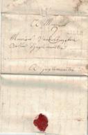 Pli De Lille=> Ingelmunster, 20 Mars 1761. Travaux De Cheminées Et Garnitures Au Château Du Baron De Plotho. - 1714-1794 (Austrian Netherlands)