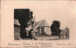 ! [62] Corbehem Bei Arras, Kappelle Als Pferdestall, 1917 Carte Photo Allemande, 1. Weltkrieg, Guerre 1914-18, Fotokarte - Autres Communes
