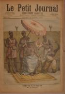Le Petit Journal. 23 Avril 1892. Behanzin, Roi De Dahomey. Le Centenaire De La Marseillaise. - Boeken, Tijdschriften, Stripverhalen