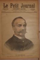 Le Petit Journal. 30 Avril 1892. M. Noblemaire, Directeur De La Compagnie Paris-Lyon-Méditerranée. Armée Autrichienne. - Boeken, Tijdschriften, Stripverhalen