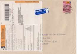 Finland - 039/2002 Letter Registred+priority From Hameenlinna To Sofia(Bulgaria) - Finland