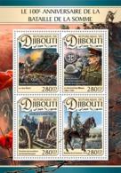 Djibouti 2016 War  Battle Of Somme WWI First WORLD WAR - Djibouti (1977-...)