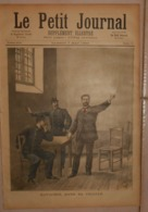Le Petit Journal. 7 Mai 1892. Ravachol Dans Sa Cellule. Le Restaurant Véry Après L'explosion. - Boeken, Tijdschriften, Stripverhalen