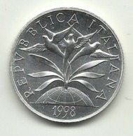 1998 - Italia 2.000 Lire Anno 2000 - Senza Confezione - Commémoratives