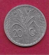 Indochine - 20 Centimes - 1945 - Otros – Asia