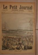 Le Petit Journal. 21 Mai 1892. Débarquement à Kotonou Des Troupes Sénégalaises.Le Nouveau Pavillon. - Boeken, Tijdschriften, Stripverhalen