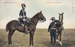 AK - Militärpostkarte Brigadier Groot Tenue Cavalerist Groot Tenue - Niederlande
