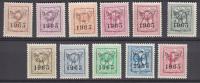 OBP Nr. V 758/768 ** 1965 // Typo - Préo COB PRE 758/768 - Prematasellados