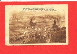 BRANCION Fete Celtique Des Feux 1926 Cpa Animée Edit Comité Fetes - Otros