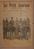 Le Petit Journal. 28 Mai 1892. L'armée Italienne.La Révolte De L'île De Sercq. - Boeken, Tijdschriften, Stripverhalen