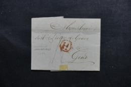 BELGIQUE - Lettre Pour Gend En 1799 - L 46372 - 1794-1814 (French Period)