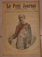 Le Petit Journal. 4 Juin 1892. M. De Mohrenheim, Ambassadeur De Russie. La Tireuse De Cartes. - Boeken, Tijdschriften, Stripverhalen