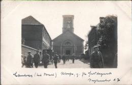! [59] Lambres-lez-Douai, Eglise, Kirche, 1917 Carte Photo Allemande, 1. Weltkrieg, Guerre 1914-18, Fotokarte - Douai