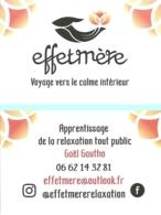 Carte De Visite - Effetmère  Relaxation [22 - Yffiniac] - Visitekaartjes