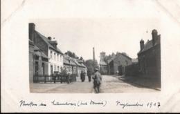 ! [59] Lambres-lez-Douai, 1917 Carte Photo Allemande, 1. Weltkrieg, Guerre 1914-18, Fotokarte - Douai
