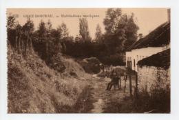 - CPA GREZ-DOICEAU (Belgique) - Habitations Rustiques - Photo P.I.B. - - Grez-Doiceau