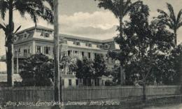 Demerara ALMS HOUSES CENTRAL WING   BRITISH GUIANA GUYANE BRITANNIQUE GUAYANA GUYANA - Postales