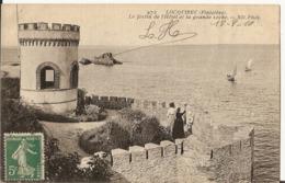 LOQUIREC        Le Fortin De L'Hôtel Et La Grande Roche - Locquirec