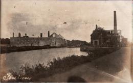 ! [59] Brebieres Bei Douai, Schleuse Wassermühle, Moulin, Carte Photo Allemande, 1. Weltkrieg, Guerre 1914-18, Fotokarte - Douai