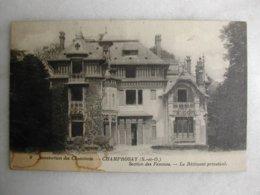 Sanatorium Des Cheminots - CHAMPROSAY - Section Des Femmes - Le Bâtiment Principal - Other Municipalities