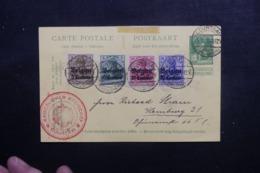 BELGIQUE - Entier Postal + Compléments D'Occupation Allemande De Courtrai En 1915 - L 46380 - Stamped Stationery