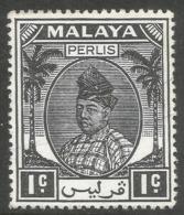 Perlis (Malaysia). 1951 Raja Syed Putra. 1c MNH. SG 7 - Perlis