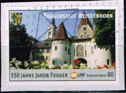 Bund 2016,Col# LMF-149 O Fuggerstadt Weissenhorn - [7] Federal Republic