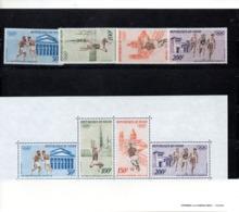 Niger Nº Aereo Nº 187-90 + H.B. 9 Olimpiadas, Serie Completa En Nuevo 16,75 € - Verano 1972: Munich