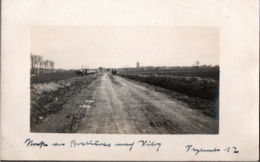 ! [59] Straße Von Brebieres Nach Vitry  1917, Carte Photo Allemande, 1. Weltkrieg, Guerre 1914-18, Fotokarte - Autres Communes