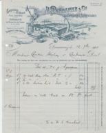 Finistère - Douarnenez - H.Pennamen Et Cie - Conserves Sardines, Thon - Poissons - 1928 - Alimentaire