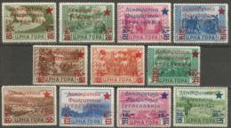 Yugoslavia,Local Issue-Cetinje 1945.,without Porto,MNH - Nuovi
