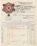 Finistère - Douarnenez - Auguste Chancerelle Et Cie - Conserverie De Sardines - Poissons - Thon - Pêche - 1929 - Food