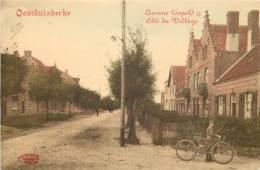Oostduinkerke - Avenue Léopold II , Côté Village - Edit. Marcovici - Maison Du Faucon - Hôtel De Ville - Oostduinkerke
